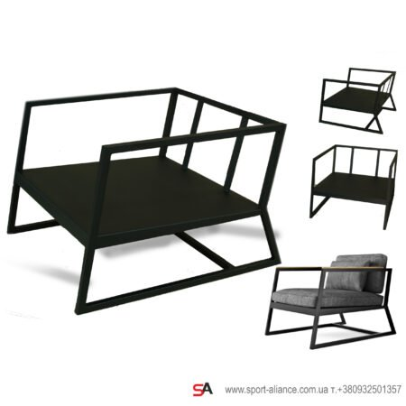 Мебель из металла на заказ фото 1