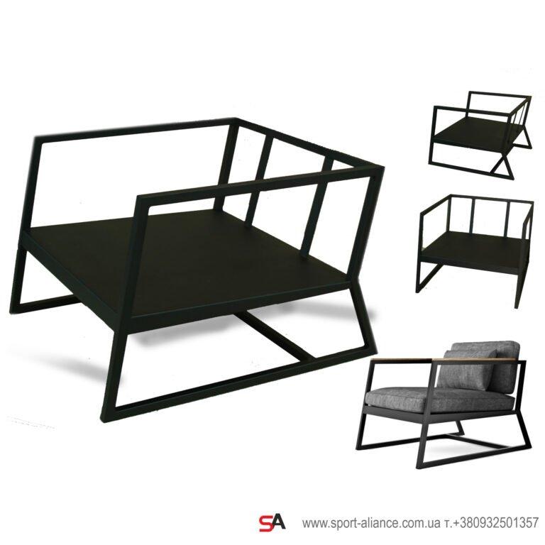 Мебель из металла на заказ фото