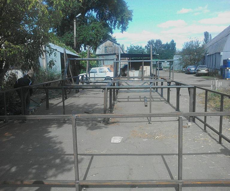 Батутный комплекс (каркас) фото